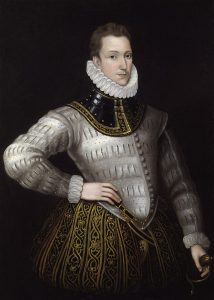Sir Philip Sidney, by unknown artist, given to the National Portrait Gallery